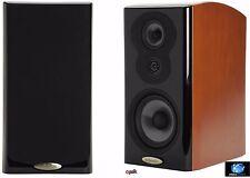 New Polk AudioLSiM703 Bookshelf Loudspeaker 36Hz-40kHz Mt Vernon Cherry Single