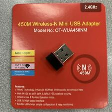 N 300Mbps Mini Wireless USB Wifi Adapter LAN Antenna Network 802.11n/g/b Nano