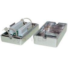 CAT.6 LSA Anschlussbox Netzwerk Kabel Verbinder Connection Box LAN 2x RJ45