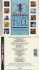 Jethro Tull 20 Years Of Jethro CD ALBUM uk pressing