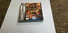 Lord of the Rings The Third Age (Nintendo Game Boy Advance, 2004) new gba