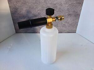 Heavy Duty Halfords HP2000 HP2800 Pressure Washer Snow Foam Lance With 1L Bottle