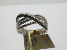 SIMON G 18K MR2049 WHITE GOLD RING 0.46 CTW DIAMONDS SIZE 6.5 - RETAIL $2,600.00