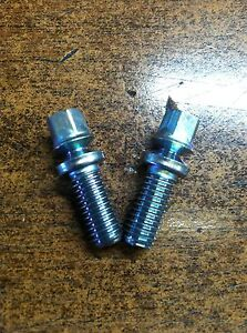 NEW OEM NISSAN IGNITION LOCK SECURITY BREAK AWAY BOLTS - FITS MANY MODEL NISSANS
