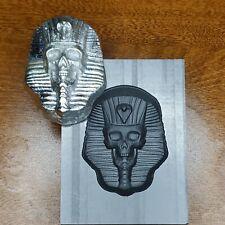 Large Pharo 3D Graphite Ingot Mold Gold Silver Copper Melting Casting Refining