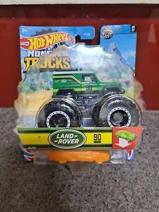 Hot Wheels Monster Jam Land Rover Defender Crash Legends #06/07 46/75 #90
