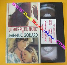 VHS film JE VOUS SALUE MARIE Jean luc Godard PREMIERE 2 (F113) no dvd