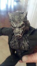 custom painted lycan head for 12 inch body