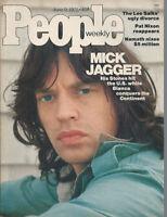 MICK JAGGER Rolling Stones JOE NAMATH Shana Alexander 1975 People magazine