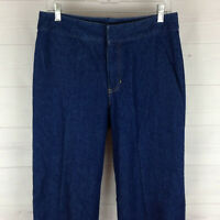 Liz Claiborne womens size 10 blue medium wash 100% cotton mid rise tapered jeans
