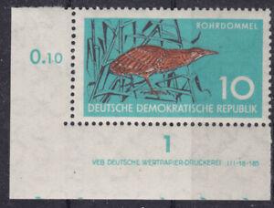 Briefmarken DDR Mi Nr. 689 Naturschutz Druckvermerk DV DWD **