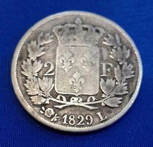 Raro 2 Franchi 1829 L Bayonne Charles X