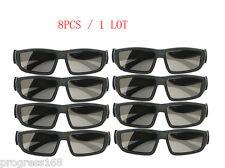 8 PCS IMAX Glasses Passive Polarized 3D Glasses for RealD Cinema Samsung FPR TV