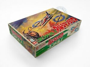 Bandai Ultraman Taro ZAT Condor 1 Fighter No.65 wind-up vintage model kit Rare