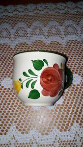 Villeroy & Boch * 1 Kaffeetasse* Bauernblume* rot *  neuwertig !