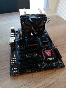 Carte mere Asus MSI 970 gaming + processeurFX-8320E + ventirad be Quiet