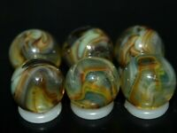 SIX PACK Jabo Classic  Marbles Collector Set Hard To Find Marbles KEEPERS L-915