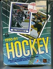 1990-91 O-PEE-CHEE NEW HOCKEY CARDS, 33 PACKS OF 8 CARDS EACH, 264 CARDS ON SALE