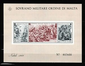 S35059 Smom 1968 MNH Natale S/S Christmas