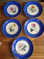 Porcelain/China Date-Lined Ceramic Antique Original Blue