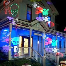 LED Laser Landscape Decor Projector Light LampHalloween Xmas Party Outdoor