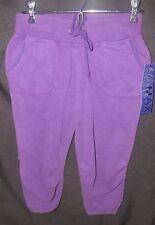 Miley Cyrus Purple Capri Cropped Pants Size Medium Max Azria Plum Berry NEW NWT