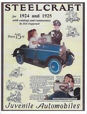 Steelcraft Pedal Car Catalog for 1924 & 1925 with Commentary by Bob Duppstadt