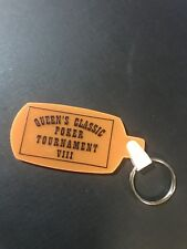 Four Queens Casino Queen's Classic Poker Tounament 8 Orange Key Chain Las Vegas