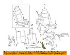 GM OEM Front Seat-Recline Adjuster Right 12377674