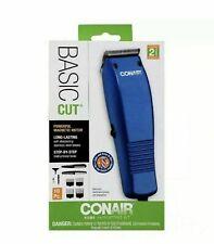 CONAIR Basic Cut Home Hair Cutting Clippers 10 PC Set Barber Kit