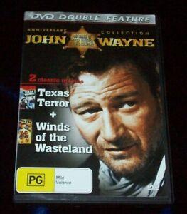 John Wayne Texas Terror + Winds Of The Wasteland  (DVD Double Feature)