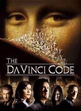 THE DA VINCI CODE Movie POSTER 27x40 Tom Hanks Ian McKellen Alfred Molina Jean