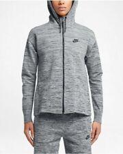 Womens Nike Tech Knit Jacket HD 835541-060 Grey Brand New Size L