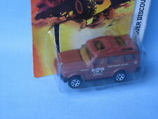 Matchbox Land Rover Discovery Brown Forest Retreat Toy Model Car Disco 70mm