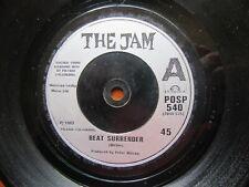 THE JAM Beat Surrender-Shopping Polydor POSP 540 1982