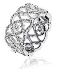 Diamond Wedding Ring 1.30ct Brilliant Cut F VS set in 18ct White Gold