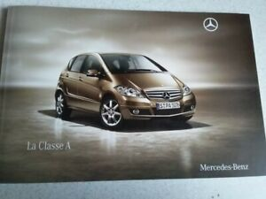 Brochure Prospekt Prospectus Catalogue MERCEDES classe A  (05/2009)