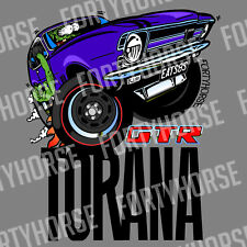 Holden Stickers - Torana LC GTR - Purple