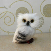 Harry Potter Realistic Hedwig Owl Toy Mini Simulation Model Christmas Gift New