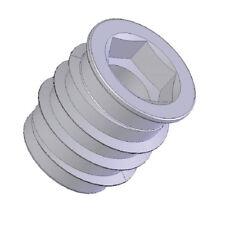 100 Stück Einschraubmuffe M 6 x 18 mm Einschraubmutter Eindrehmuffen