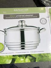 Kitchencraft Universal Steamer