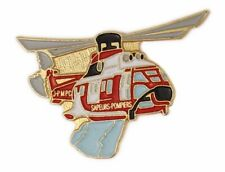 Pin's pin badge ♦ Helicoptère bombardier d'eau Sapeurs Pompiers