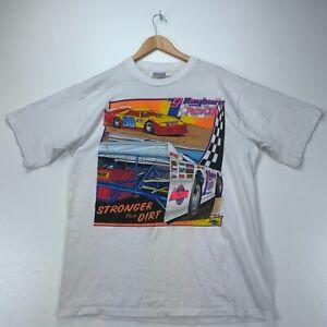 Rayburn Race Cars Arizona 1998 All Sport Vintage T-shirt XL White Indy Racing