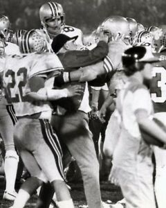 WOODY HAYES CHARLIE BAUMAN 8X10 PHOTO OHIO STATE BUCKEYES PICTURE CLEMSON FIGHT