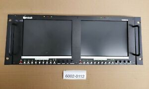 "Marshall V-R82DP-SD - 8.4"" TFT Dual Monitor - HDSDI - COMPONENT - S-VIDEO - USED"