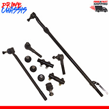 10 PC Ford F250 F350 Center Drag Link Tie Rod Ends Ball Joints Sleeves 87-96 2WD
