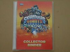 Skylanders Giants Collectors Binder with lots of Trading Cards / Folder   (P157)