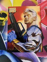 1996 Marvel Masterpieces Base #06 #6 CABLE (Boris & Julie series)