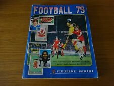 Panini Football  Sticker Album 79 / 1979 60% Complete - 367/594