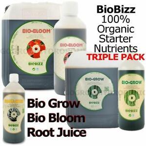 BioBizz Triple Pack